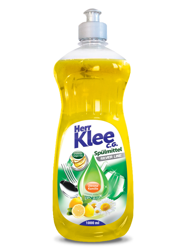 Dishwashing liquid Herr Klee C.G. Silver Line Lemon and Chamomile