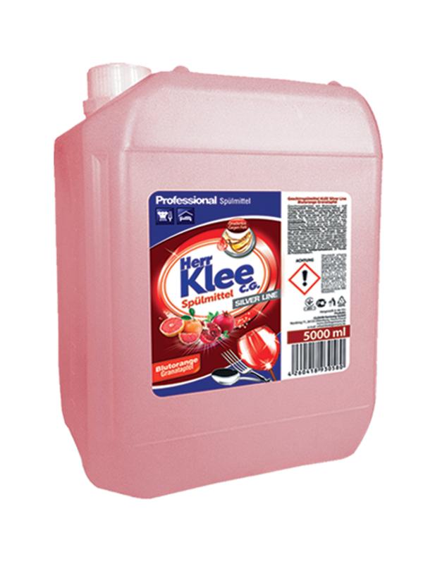 Spülmittel Herr Klee C.G. Silver Line Grapefruit und Granatapfel 5 l