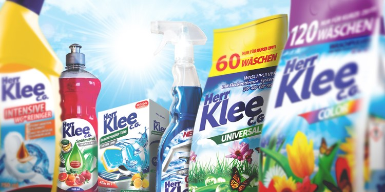 Herr Klee C.G. - cleaning products on which you can rely!