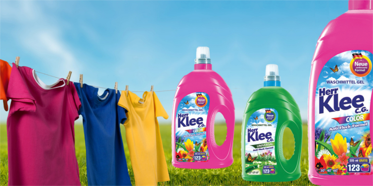 Washing gels Herr Klee C.G.