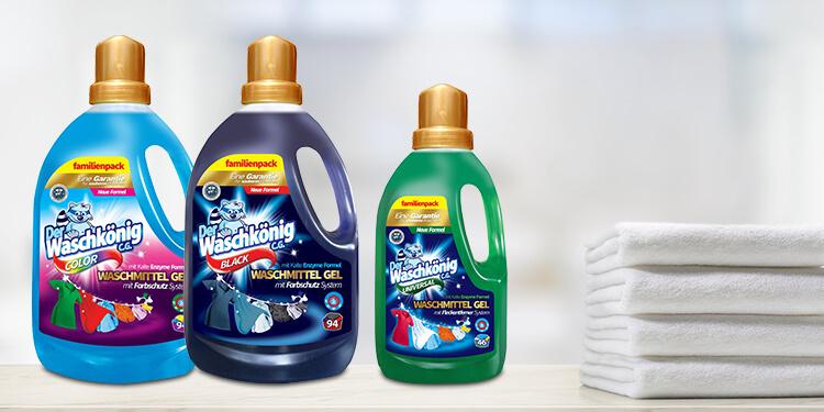 Washing gels Der Waschkönig C.G.