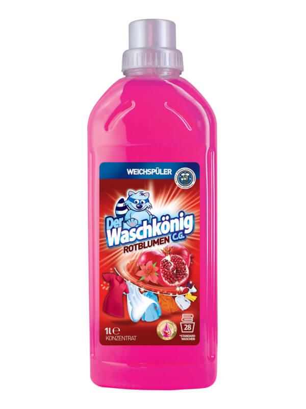 Weichspüler Der Waschkönig C.G. Rotblumen