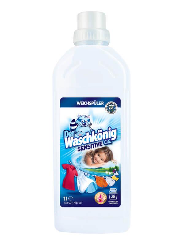 Weichspüler Der Waschkönig C.G. Sensitive