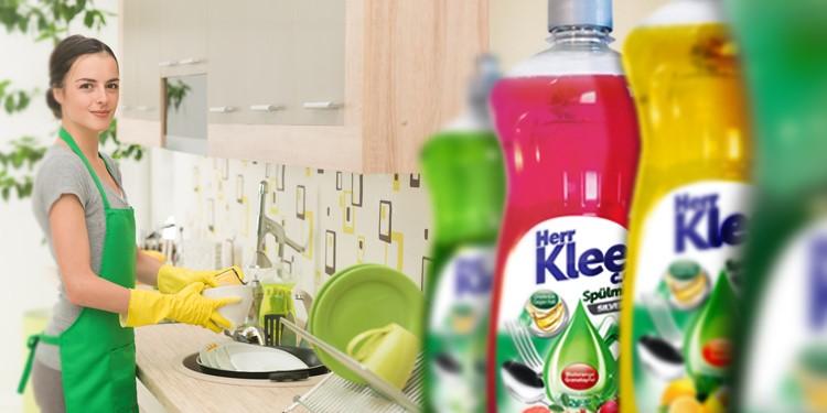 Dishwashing liquids Herr Klee C.G. Silver Line