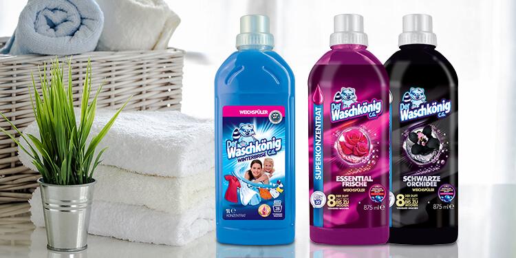 Rinsing liquids Der Waschkönig C.G.