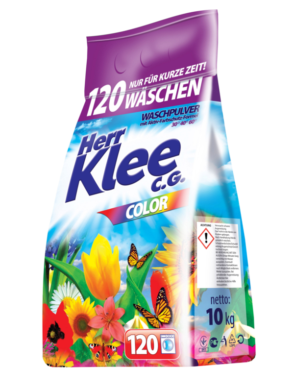 Washing Powder Herr Klee C.G. Colour 10 kg