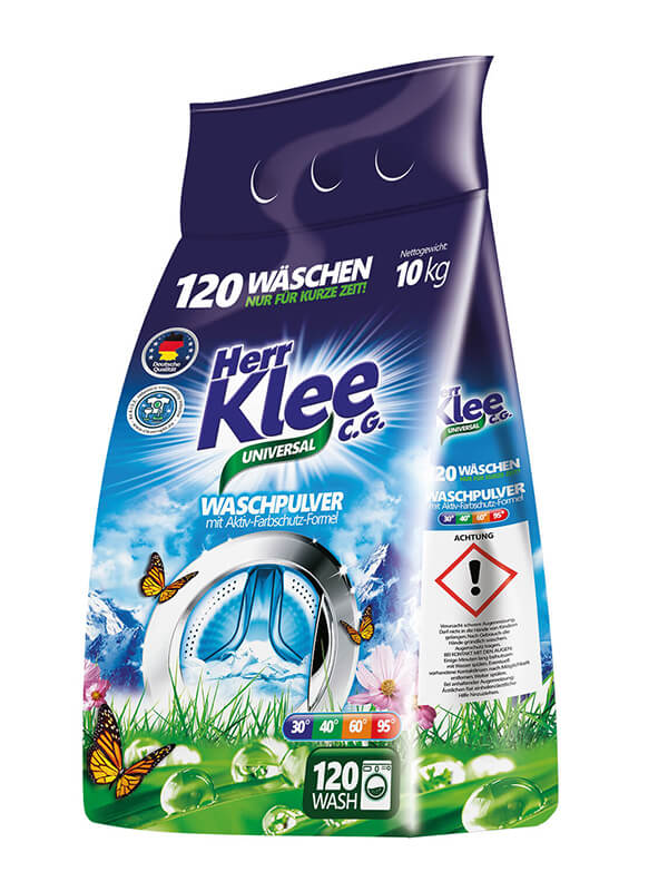 Waschpulver Herr Klee Universal C.G.