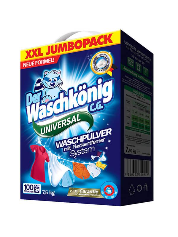 Washing powder Der Waschkönig C.G. Universal 7,5kg