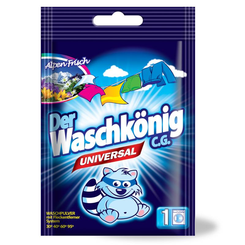 Washing powder Der Waschkönig C.G. Universal 83 g