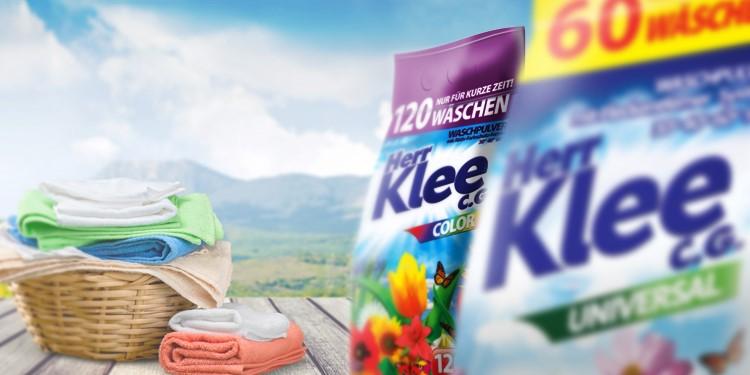 Washing powders Herr Klee C.G.