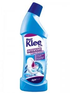 WC gels Herr Klee C.G. AlpinFresh 750 ml