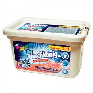 Washing capsules Der Waschkönig C.G. Wolle