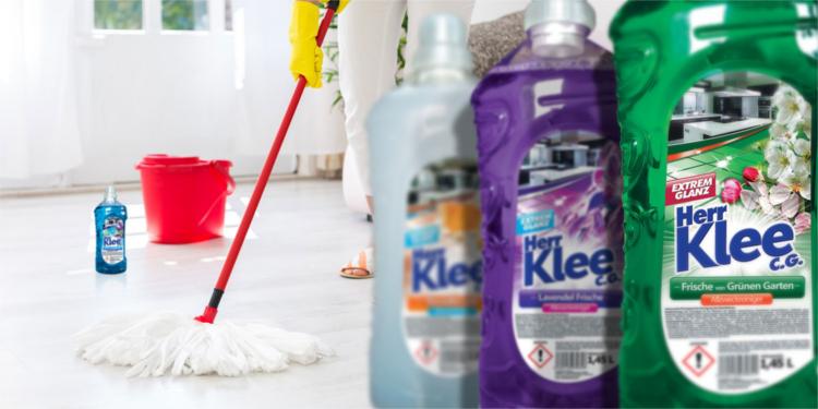 Floor washing liquids Herr Klee C.G.