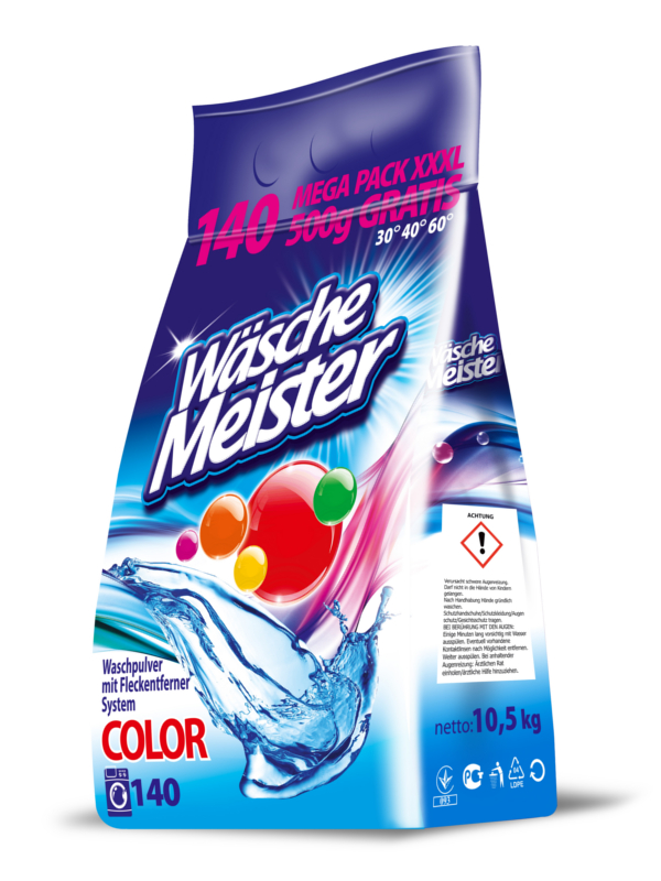 Washing powder WäscheMeister Colour