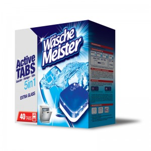 WäscheMeister dishwasher tablets 40 pieces