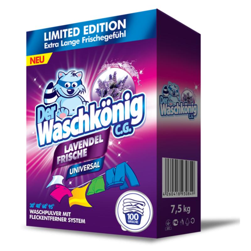 Proszek do prania Der Waschkönig C.G. Lavendel Frische Universal