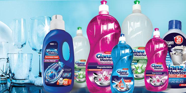 GlanzMeister – innowacyjna linia środków przeznaczonych do mycia naczyń i czyszczenia
