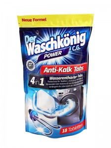 Descaling tablets for washing machines Der Waschkönig C.G. 18 pieces