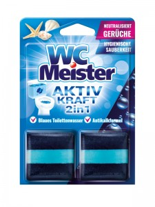 WC Meister colouring block for a flushing bowl – sea scent