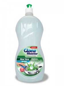 GlanzMeister Aloe Vera washing up liquid