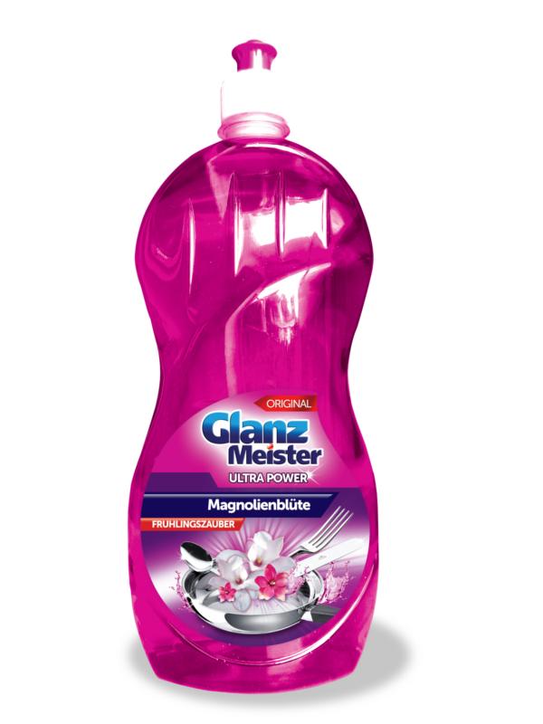 Spülmittel GlanzMeister Magnolienblüte 1000 ml