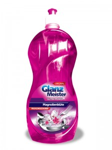 GlanzMeister Magnolienblüte washing up liquid