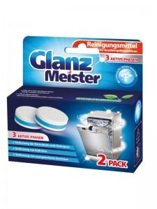 Czyścik do zmywarki w tabletkach GlanzMeister 2 sztuki