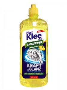 Octowy płyn do czyszczenia łazienki Herr Klee C.G. 1 l o zapachu cytryny