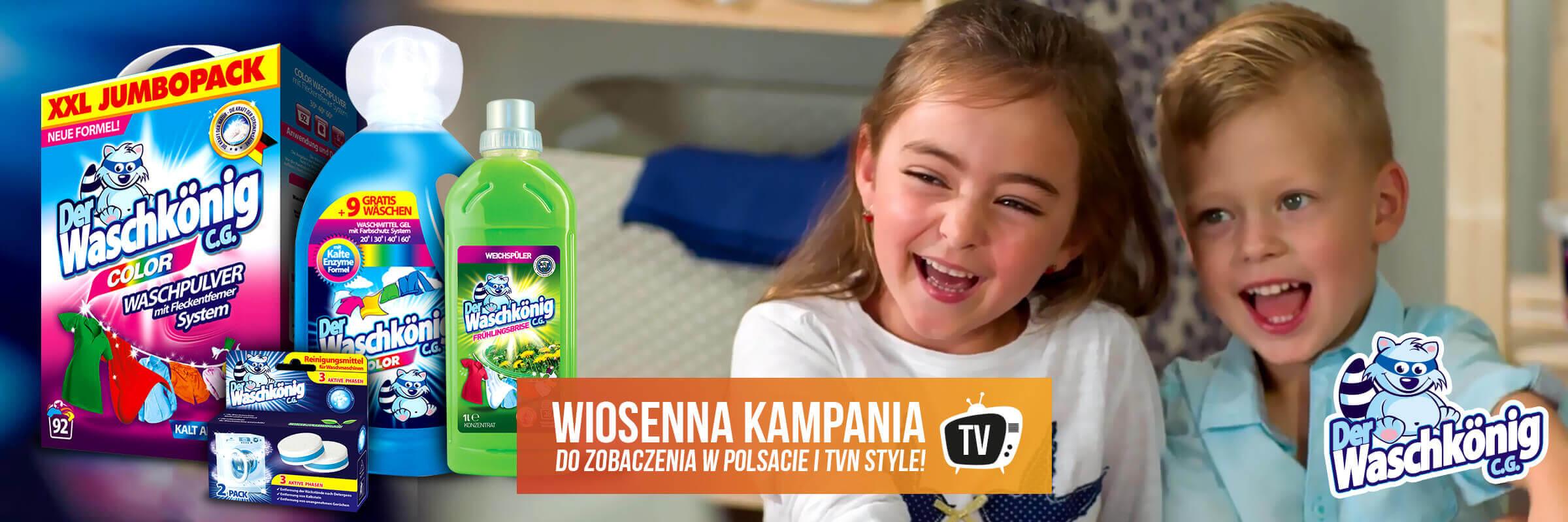 Ruszyła wiosenna kampania marki Waschkonig w polskiej TV!