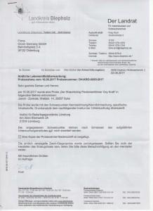 Zgodność produktów Clovin Germany GmbH z obowiązującymi normami prawnymi