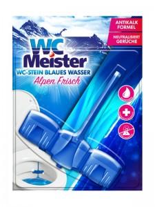 Zawieszka do toalety barwiąca wodę WC Meister Alpen Frisch